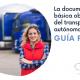 Guía recordatorio de la documentación obligatoria para el transporte de mercancías